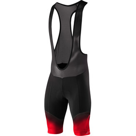 Löffler Carezza Gel Cuissard de cyclisme long Homme, black/red